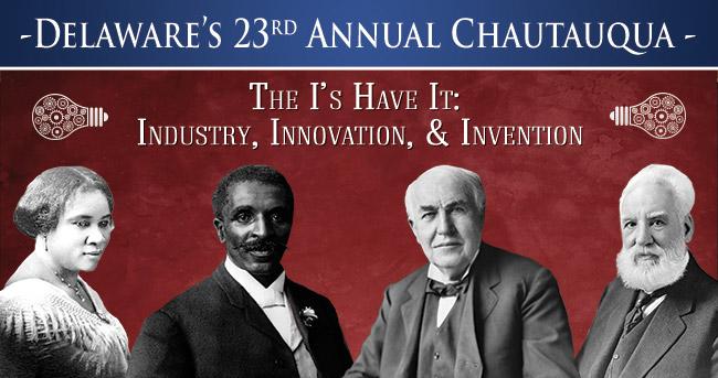 Delaware's 23rd annual Chautauqua, Sept. 9–12, 2021